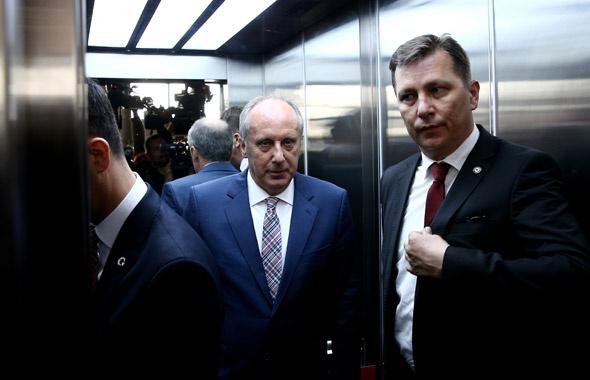 CHP cumhurbaşkanı adayı Muharrem İnce oldu