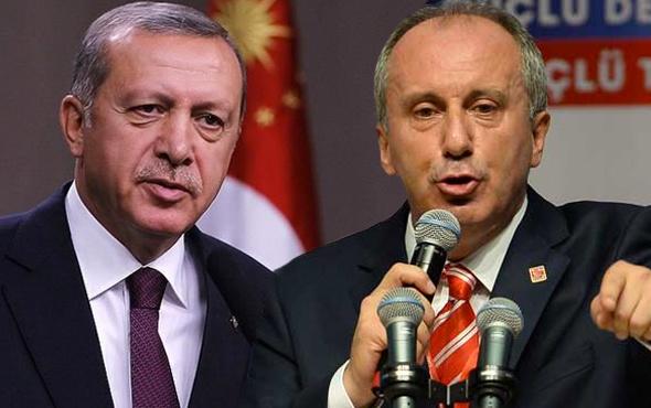 En taze anket! İnce, Erdoğan karşısında ne kadar oy alır?