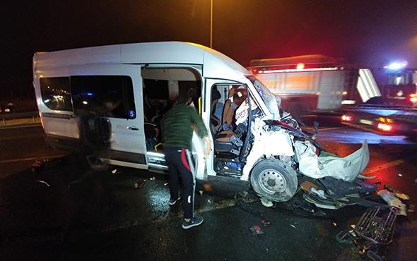 İstanbul'da feci kaza: Çok sayıda yaralı var!