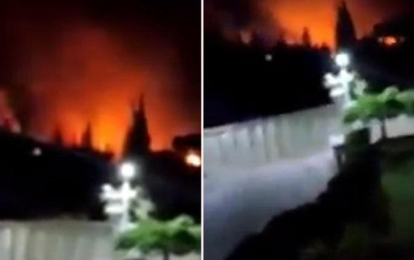 İsrail Suriye'yi yine vurdu! 8 İran askeri öldü...
