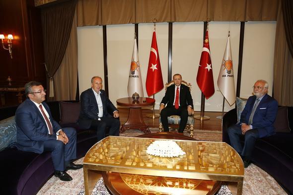 Cumhurbaşkanı Erdoğan, Muharrem İnce ile görüştü