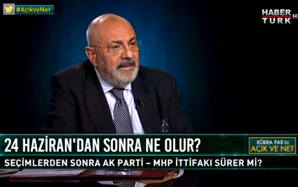 Tuğrul Türkeş 'den ittifak açıklaması: Bu iş amacına ulaşmaz