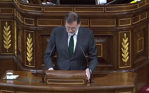 İspanya Başbakanı Mariano Rajoy yolsuzluk iddiaları üzerine istifa etti!