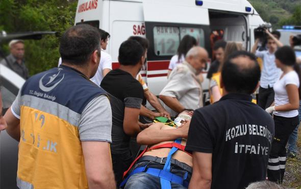 Zonguldak'ta trafik kazasında 2 kişi öldü