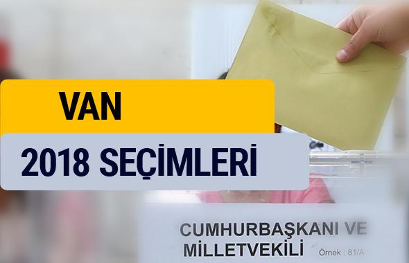 Seçim sonuçları 2018 YSK Van seçim sonucu