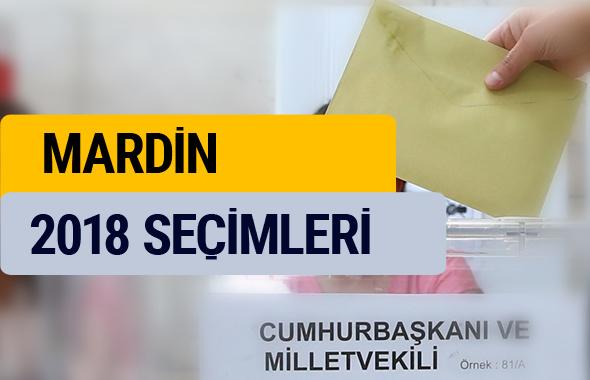 YSK 2018 seçim sonuçları Mardin oy sonucu