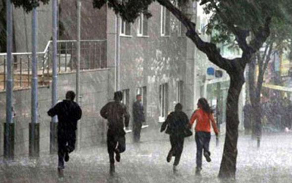 Meteorolojiden son dakika sağanak yağış uyarısı geldi