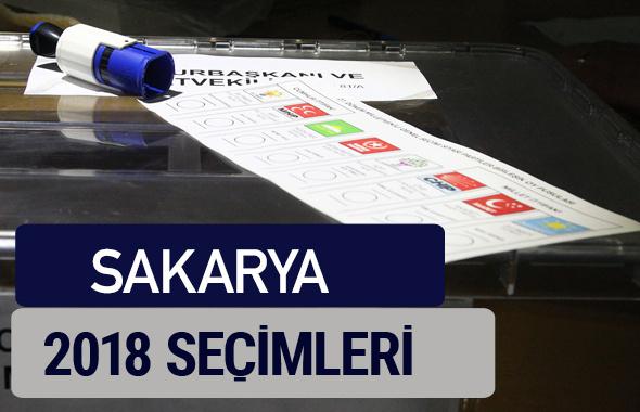 Sakarya oy oranları partilerin ittifak oy sonuçları 2018 - Sakarya