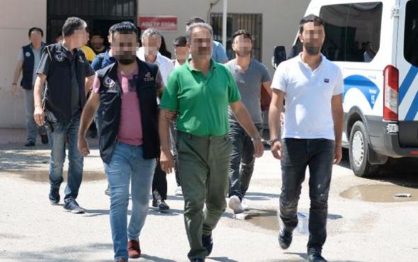 Adana'da PKK'ya para toplayan 10 kişi adliyede