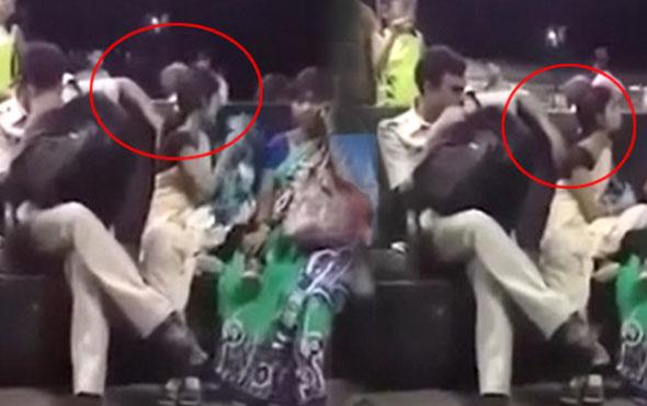 Polis memuru, genç kadını uyuma numarası yaparak taciz etti!