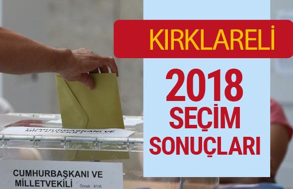Kırklareli Seçim Sonuçları - Genel Seçim 2018 Kırklareli Sonucu son durum nasıl?