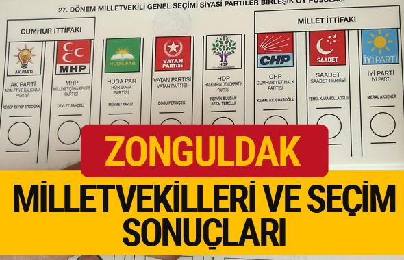 2018 Zonguldak Seçim Sonuçları Zonguldak Milletvekilleri 27. dönem