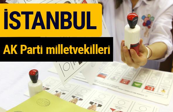 AK Parti İstanbul Milletvekilleri 2018 - 27. dönem AKP isim listesi