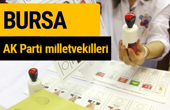 AK Parti Bursa Milletvekilleri 2018 - 27. dönem AKP isim listesi