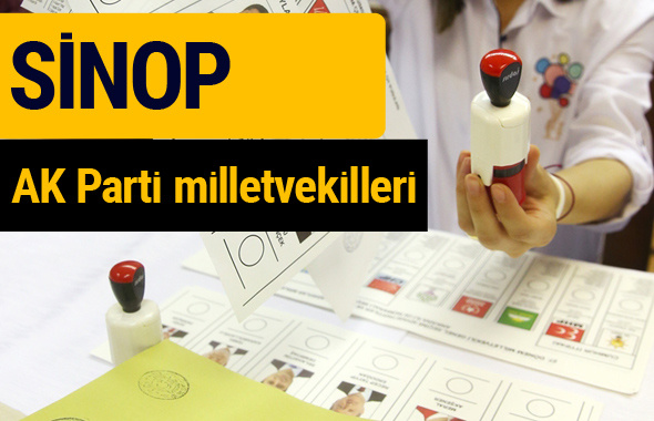AK Parti Sinop Milletvekilleri 2018 - 27. dönem AKP isim listesi
