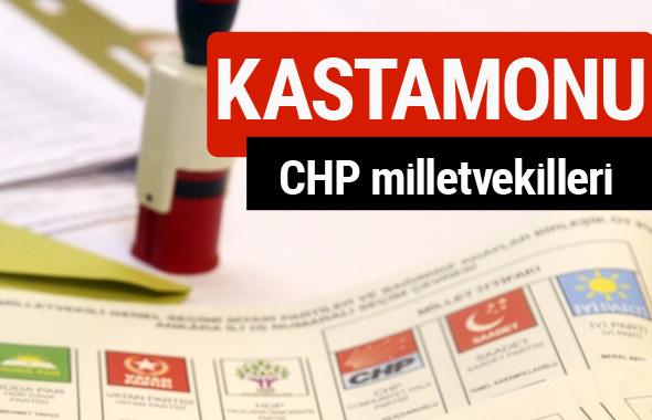 CHP Kastamonu Milletvekilleri 2018 - 27. dönem Kastamonu listesi