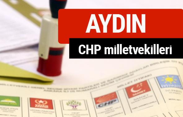 CHP Aydın Milletvekilleri 2018 - 27. dönem Aydın listesi