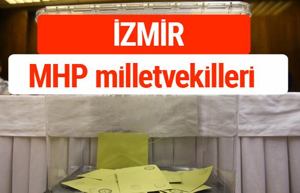 MHP İzmir Milletvekilleri 2018 -27. Dönem listesi