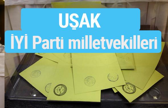 İYİ Parti Uşak milletvekilleri listesi iyi parti oy sonucu
