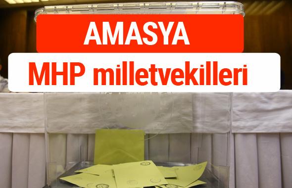 MHP Amasya Milletvekilleri 2018 -27. Dönem listesi