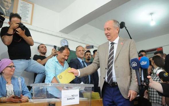 İnce'nin oy kullandığı sandıktan bakın kim çıktı!