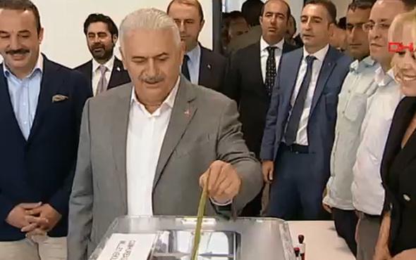 Başbakan'ın sandığından bakın kim çıktı? İşte sonuçlar