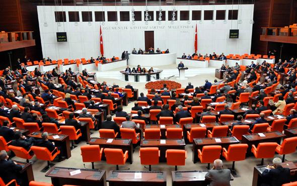 Partilerin milletvekilleri sayısı Meclis'teki sandalye dağılımı