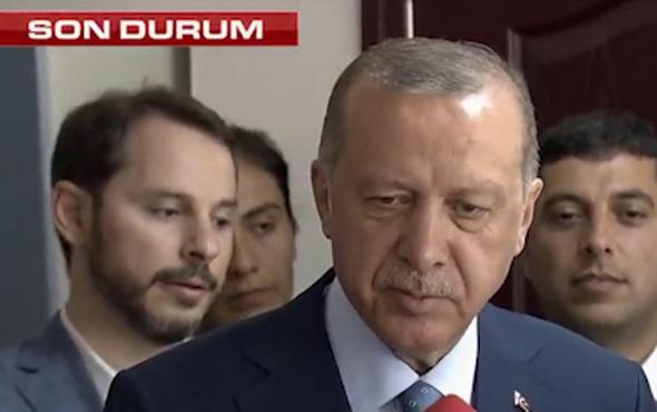 Cumhurbaşkanı Erdoğan'dan zafer açıklaması!