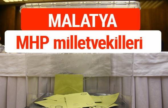 MHP Malatya Milletvekilleri 2018 -27. Dönem listesi