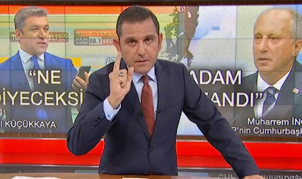 Fatih Portakal, İnce ve kendisini eleştiren muhalif seçmene isyan etti!