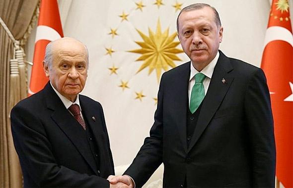 Erdoğan ve Bahçeli'den kritik görüşme saati belli oldu