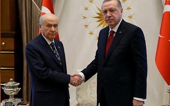 Erdoğan-Bahçeli görüşmesi bakanların listesi konuşuldu mu