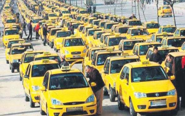 Taksiciler yine isyanda bu sefer Uber değil