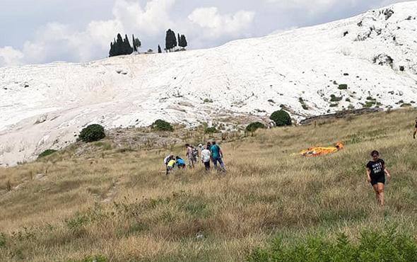 Pamukkale'de üzücü olay: Genç turist hayatını kaybetti!