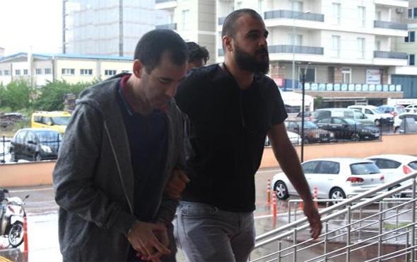 Kritik davanın hakimi Yunanistan'a kaçarken yakalandı!