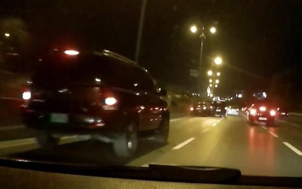 İstanbul'da feci kaza! Makas atayım derken...