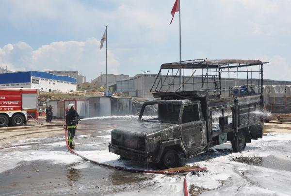 Fabrikada patlama: Ortalık savaş alanına döndü!