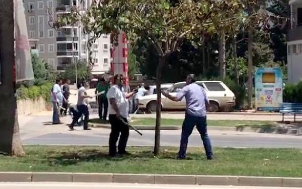 Adana'da 200 kişi birbirine girdi