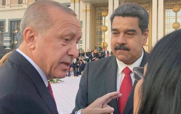 Maduro'dan Erdoğan açıklaması: Onur duydum