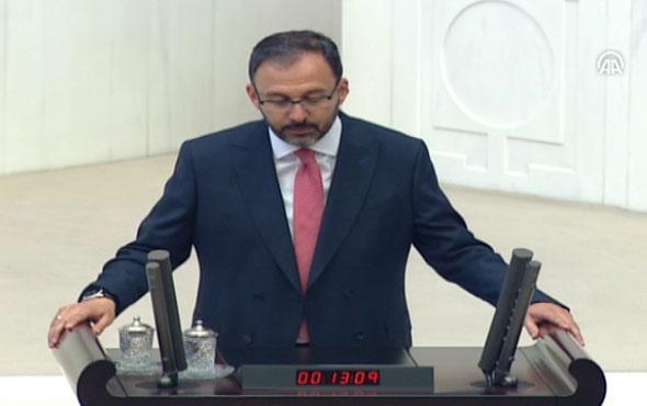 Gençlik ve Spor Bakanı Mehmet Muharrem Kasapoğlu yemin etti