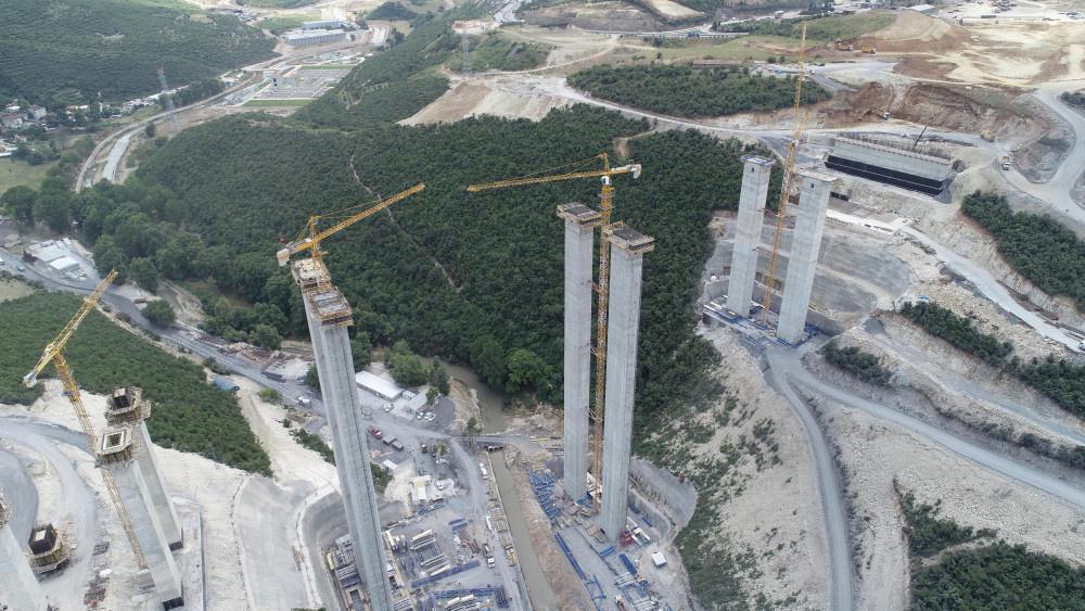Kuzey Marmara Otoyolu'nun son durumu