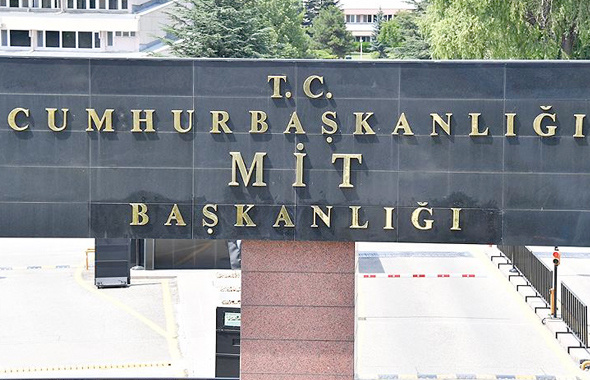 Adı değişen MİT'in tabelası da değişti işte bina gişindeki yeni tabela