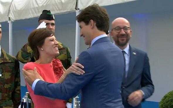 Kanada Başbakanı Trudeau'dan olay hareket! Belçika başbakanının eşini...