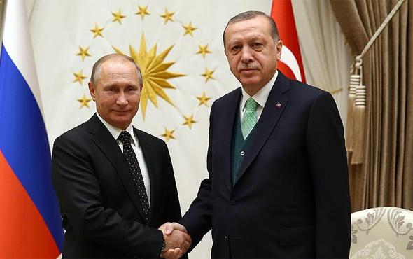 Başkan Erdoğan Putin'i Suriye için uyardı