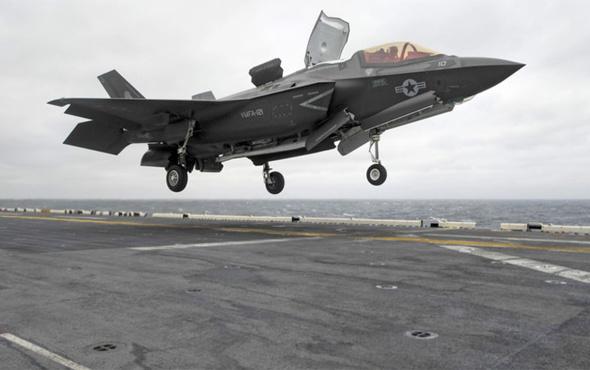 ABD'den Ortadoğu'ya F-35B tipi uçak