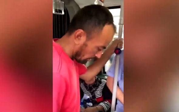 Tacizci metrobüste suçüstü yakalandı!