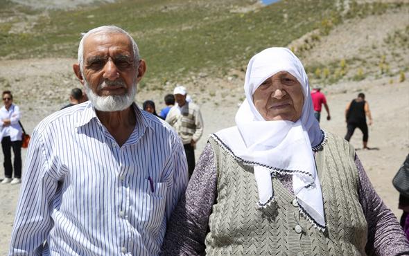 Yaşadıkları kentte ilk kez Erciyes'le tanıştılar