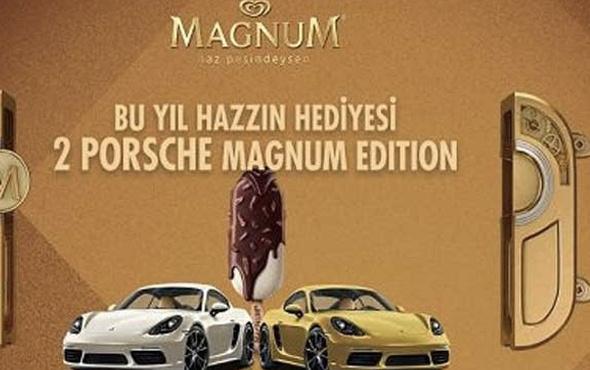 Magnum çekiliği Porsche çekiliş Sonucu Ne Zaman Açıklanacak