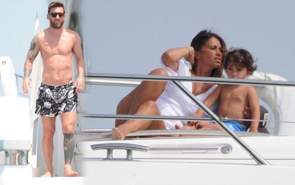 Dünya Kupası fiyaskosu sonrası Messi'ye tatil terapisi
