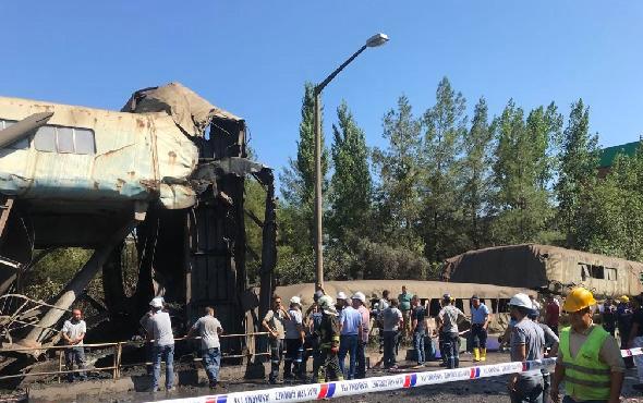 Muğla'da Yatağan Termik Santrali'nin kömür bandı çöktü!